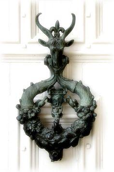 Great door & knocker
