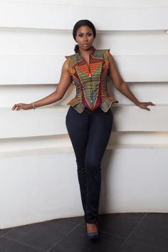 Africanprint ~African fashion, Ankara, kitenge, African women dresses, African prints, African men's fashion, Nigerian style, Ghanaian fashion ~DKK