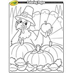 Coloring Pages | crayola.com Thanksgiving