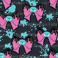 * PRE-ORDER * Vampbows (blue/pink)