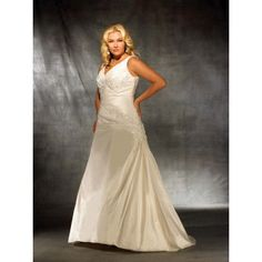 http://www.hibridal.com/plus-size/956-inexpensive-plus-size-lace-elegant-v-neck-wedding-gown.html
