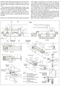 Workbench Plans - Workshop Solutions