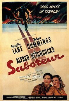5/19/14  12:15a  Universal Picture   ''Saboteur'' Priscilla Lane Robert Cummings Alfred Hitchcock   Pictures, Photos & Images - IMDb