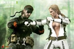 """toyhaven: Hot Toys Metal Gear Solid 3: Snake Eater 1/6th scale """"The Boss"""" 12-inch Collectible Figure"""