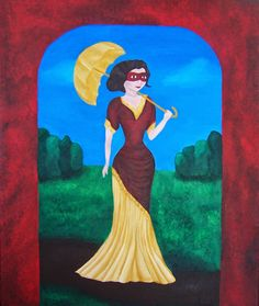 Hana Szarowski: One small summer dream - new painting 'Under the S...