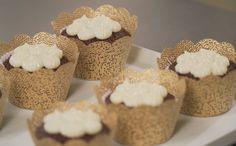 Cupcake de chocolate com recheio de limão Também conheça os truques para rechear o cupcake como um profissional