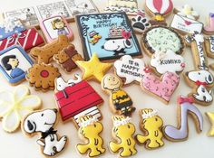Peanuts Gang Cookies:
