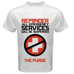 The purge extra large design Size S, M, L, XL, 2XL, 3XL, 4XL, and 5XL | butikonline83 - Clothing on ArtFire