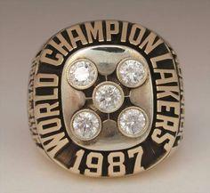 1987 lakers championship ring