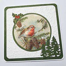 Papiernictvo - Vianočná pohľadnica - 8533883_