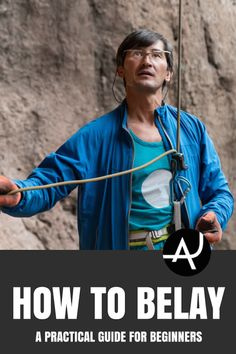 How to belay properly is the most essential skill in climbing, because catching a fall well hinges entirely on the belayer. Rock Climbing Equipment, Rock Climbing Training, Rock Climbing Workout, Rock Climbing Gear, Sport Climbing, How To Belay, Yoga For Climbers, Climbing Quotes, Climbing Technique