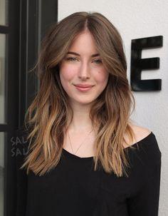 Pinterest: DEBORAHPRAHA ♥️ medium length hair and ombre hair