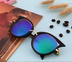 434b51bfad1 Fashion Retro Metal Frame Sexy Cat Eye Sunglasses for Women sun glasses UV  400  JOGAL