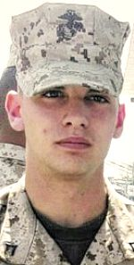 Marine LCpl. Hunter D. Hogan, 21, of Norman, Indiana. Died June 23, 2012, serving during Operation Enduring Freedom. Assigned to 1st Battalion, 8th Marine Regiment, 2nd Marine Division, II Marine Expeditionary Force, Camp Lejeune, North Carolina. Died of woiunds sustained when hit by enemy sniper small-arms fire during combat operations in Helmand Province, Afghanistan.