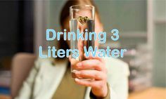 A Woman Did Remarkable Transformation Drinking Three Liters Water For 28 Days!