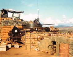 US Army M42 Duster, LZ Schueller, 1970