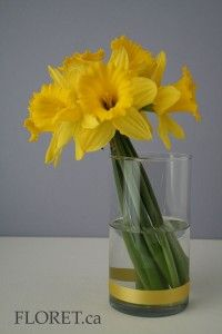 Simple centerpiece.  This also could serve as a bouquet for the ceremony and then as a centerpiece for the reception.