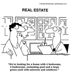 A little bit of #realestate humor this morning via Randy Glasbergen!