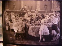 """""""Alice Through The Looking Glass"""" (1927) print frame from 35mm print"""