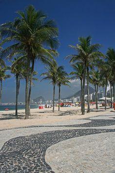 Rio de Janeiro, Leme and Copacabana Brasil