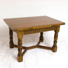A 1920's solid oak drawleaf table. http://witchantiques.com/solid-oak-drawleaf-table.html