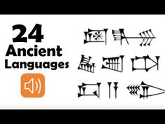 What Ancient Languages Sound Like - Top 24 Around the World