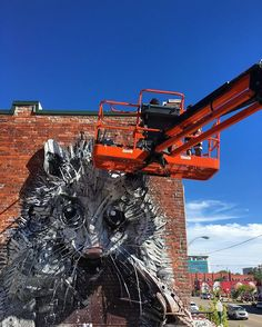 @b0rdalo_ii working on his second piece on Garrison Ave. #unexpectedfs #justkidsofficial #arkansas #fortsmith #bordaloii ♥•♥•♥