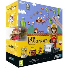 Super Mario Maker Wii U. The family is going to love playing this together.