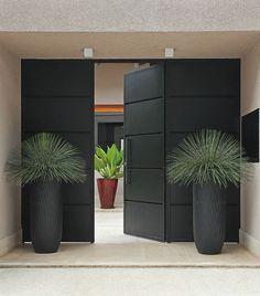 House exterior design modern entrance ideas for 2019 Entrance Design, House Entrance, Entrance Doors, Entrance Ideas, Modern Entrance Door, Office Entrance, Garden Entrance, Courtyard Entry, Door Entry