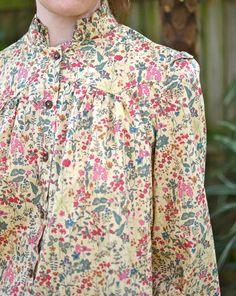 Lisette Traveller 2246 Dress (Liberty fabric?)