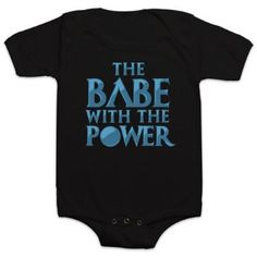 'Babe with the Power' Labyrinth Onesie | Baby Geek