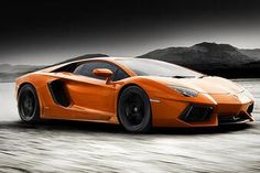 Matte Orange Aventador! Juicy!