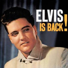 Album cover for Elvis Is Back!