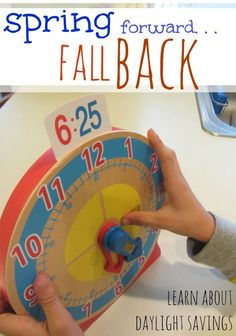 Daylight savings is just around the corner! Help your kids understand daylight savings and learn to tell time! This easy kids activity for teaching time helps them to learn some of the basics! #teachmama #daylightsavings #teachingtip #learntotelltime #clocks #learningclocks #kidsactivities #learningthebasics #education