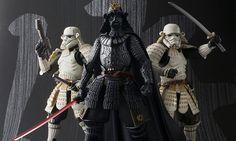 Bandai Releases Samurai Star Wars Darth Vader & Stormtrooper Figures   Highsnobiety