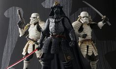 This month the anticipated samurai-inspired Star Wars figures by toy maker Bandai have released.