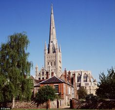 Iconic: Norwich Cathedral has been a centre of worship since it was built during the Norman period.