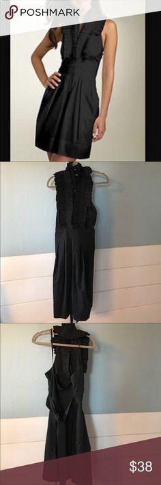 BCBG Max Azria Halter Dress. Size 4 Beautiful & versatile BCBG Max Azria Halter Dress. Size 4 BCBGMaxAzria Dresses