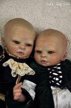 CUSTOM Reborn Baby Vampire Zombie Fantasy