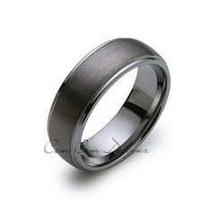 8mm,New,Unique,Gun Metal Gray Brushed,Tungsten Rings,Mens Wedding…