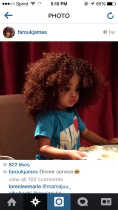 Farouk James. Blessed with a bountiful amount of hair