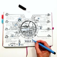 I loved this article! I learned a couple of great bullet journal hacks and tips that I haven't ever heard about before! Bullet Journal Tracker, Bullet Journal Notes, Bullet Journal Hacks, Bullet Journal Layout, Book Journal, Bujo Inspiration, Bullet Journal Inspiration, Mind Map Art, Journal Themes
