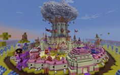 Minecraft Candy Kingdom | Minecraft Gallery