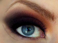 Burning Ember Eyes http://www.makeupbee.com/look_Burning-Ember-Eyes_39325