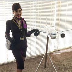 @ainur.mukhanova #flightattendant #FlightAttendantLife #aircrew #hostess #stewardess #topstewardesses #selfie #aviation #instapic #picoftheday #airline #crewfie #traveling #airplane #airport #boeing #aircraft #crewlife #crew #beauty #uniform #cabincrew #sky #aircrews #world #wanderlust #cabincrewgirls #instagram #AngelsAirways #crewiser, by crewiser.com