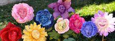 Alice in Wonderland Talking Flower Mr Grumpy by ShariDeppDesigns