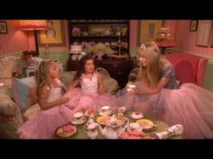 Sophia Grace And Rosie Tea Time With Taylor Swift.  While Sophia Grace and Rosie were on the Ellen Show they asked Ellen's guests to sit down for a cup of tea. Last week the girls sat down with Taylor Swift and talked about the Grammy's, food, boys and cracked a few jokes.