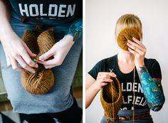 Lauren of Susk & Banoo knitting