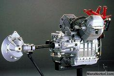 Moto Guzzi V11 Sport engine