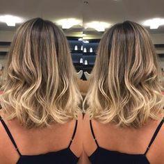 New hair long bob brunette Ideas Brown Ombre Hair, Ombre Hair Color, Long Bob Ombre, Balayage Hair Blonde, Long Bob Hairstyles, Hair 2018, Medium Hair Cuts, Bad Hair, Hair Looks